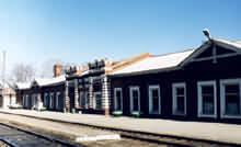 Вокзал станции Покровск